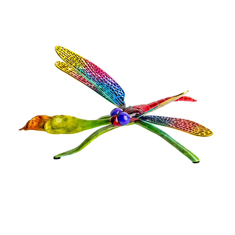 Large dragonfly flower