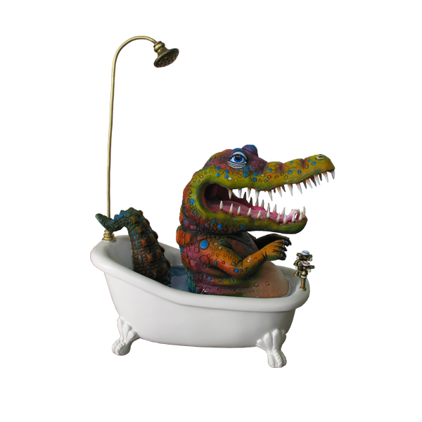 Bathtub Crocodile